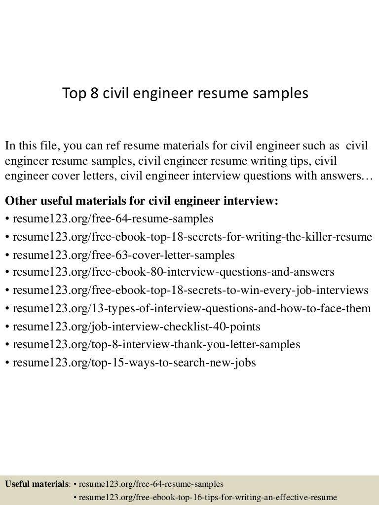 effective resume writing samples