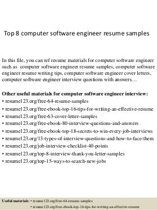 Computer Software Engineer | Linkedin