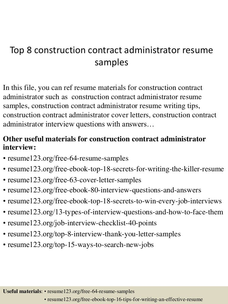 SlideShare  Construction Contracts Templates
