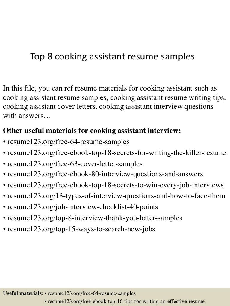 Cook Sample Resume Culinary Cover Letter Barneybonesus Resident ...