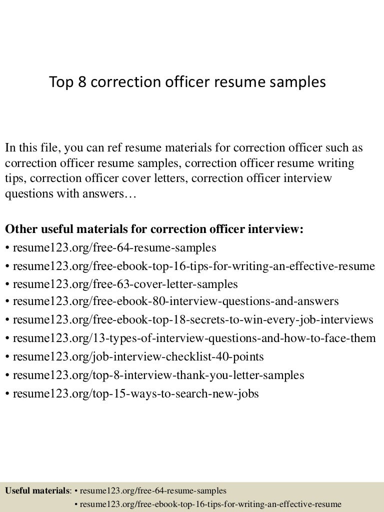 cover letter for criminal correctional officer resumes examples virtren com. Resume Example. Resume CV Cover Letter