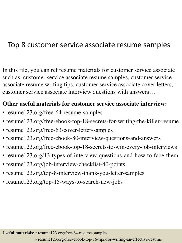 topcustomerserviceassociateresumesamples conversion gate thumbnail jpg cb