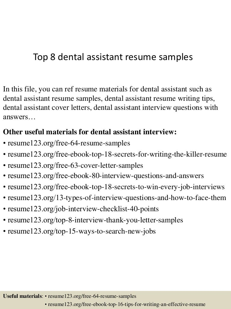 topdentalassistantresumesamples conversion gate thumbnail jpg cb