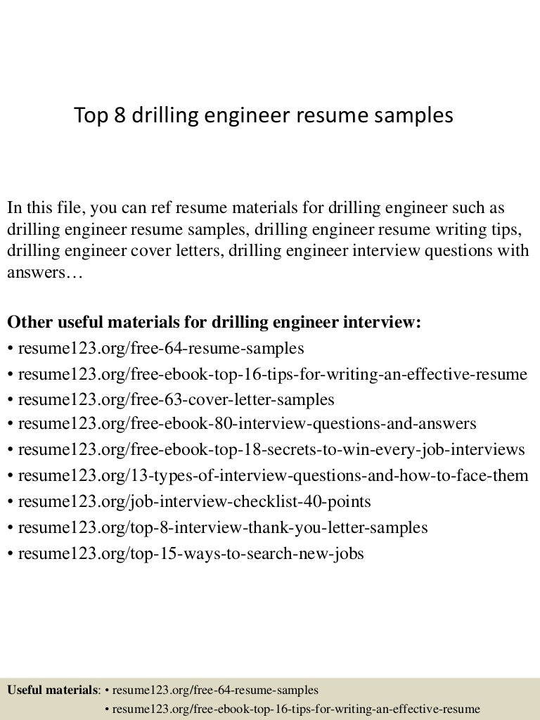 vehicle test engineer cover letter help desk coordinator sample top8drillingengineerresumesamples 150402023606 conversion gate01 thumbnail 4 vehicle - Process Integration Engineer Sample Resume