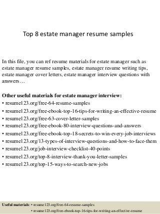 Estate Manager | LinkedIn