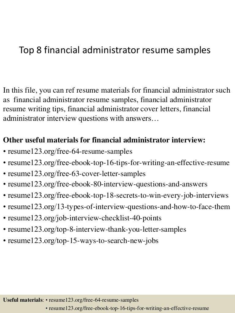top8financialadministratorresumesamples-150403192730-conversion-gate01-thumbnail-4.jpg?cb=1428107299