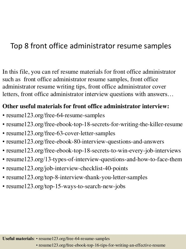 front letter format rockcup tk cover letter for admin jobs template cover letter office receptionist jobs - Sample Office Administration Cover Letter