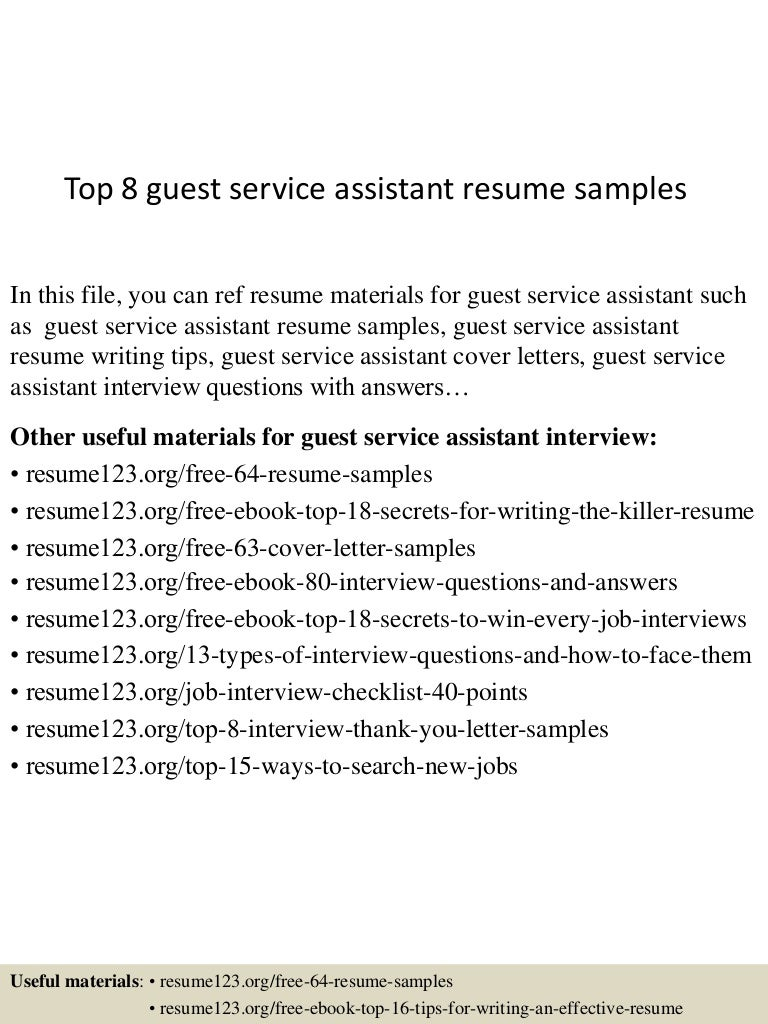 Cover Letter For Guest Services Images - Cover Letter Ideas