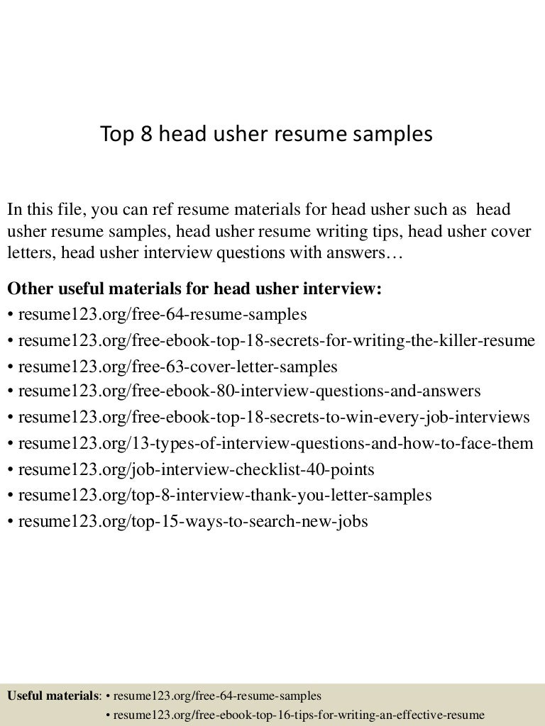 SlideShare  Winning Resume Samples