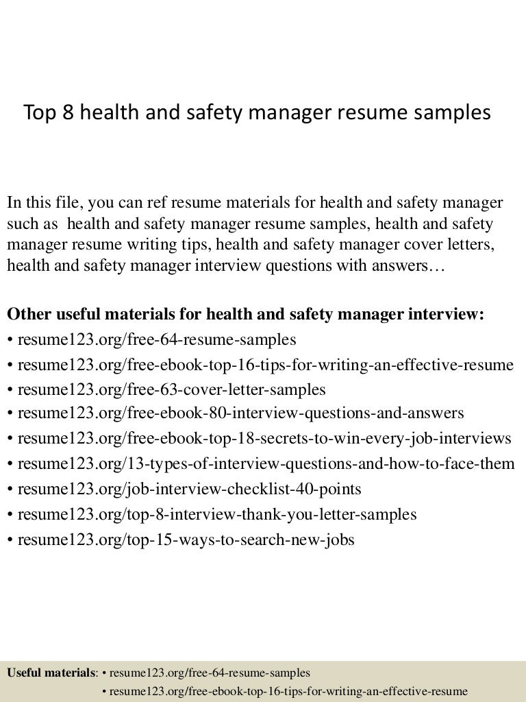 top8healthandsafetymanagerresumesamples 150402080839 conversion gate01 thumbnail 4jpgcb1427980163