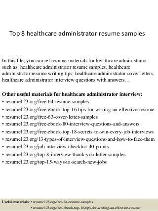 healthcare administrator linkedin