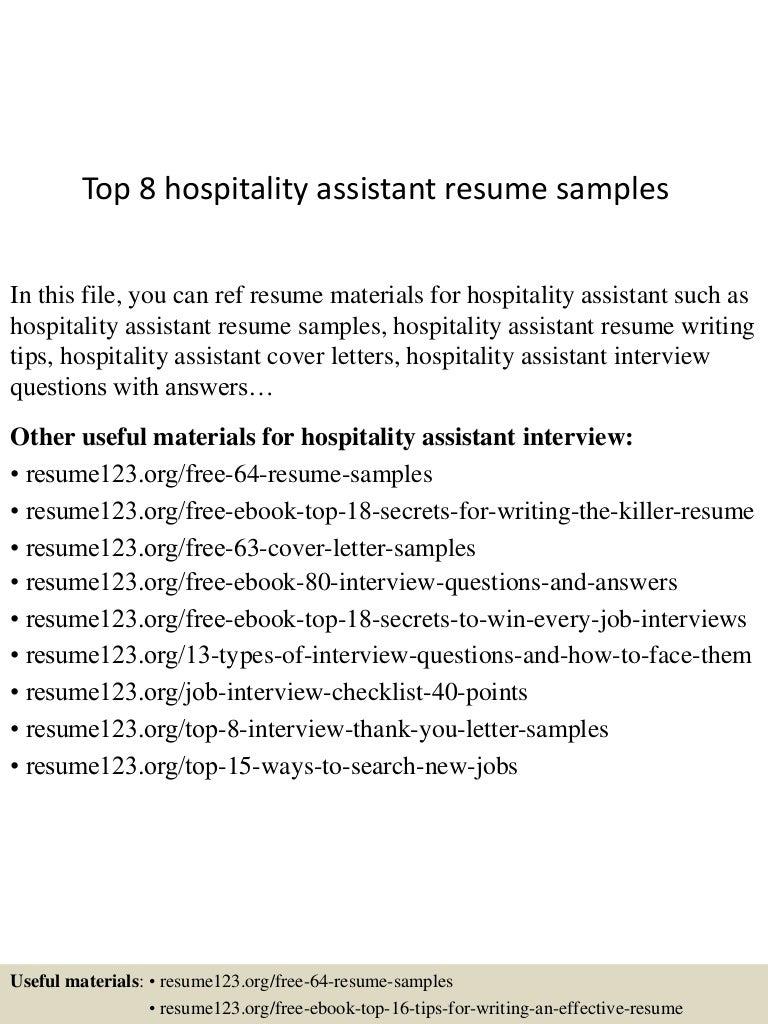 tophospitalityassistantresumesamples lva app thumbnail jpg cb