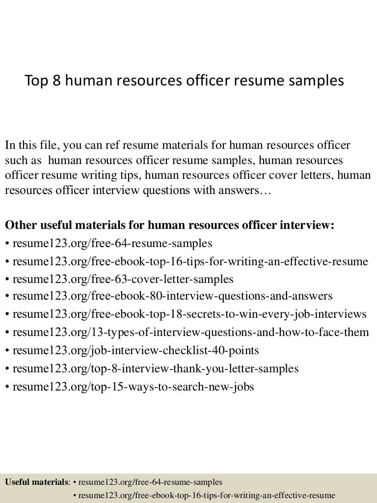 tophumanresourcesofficerresumesamples conversion gate thumbnail jpg cb