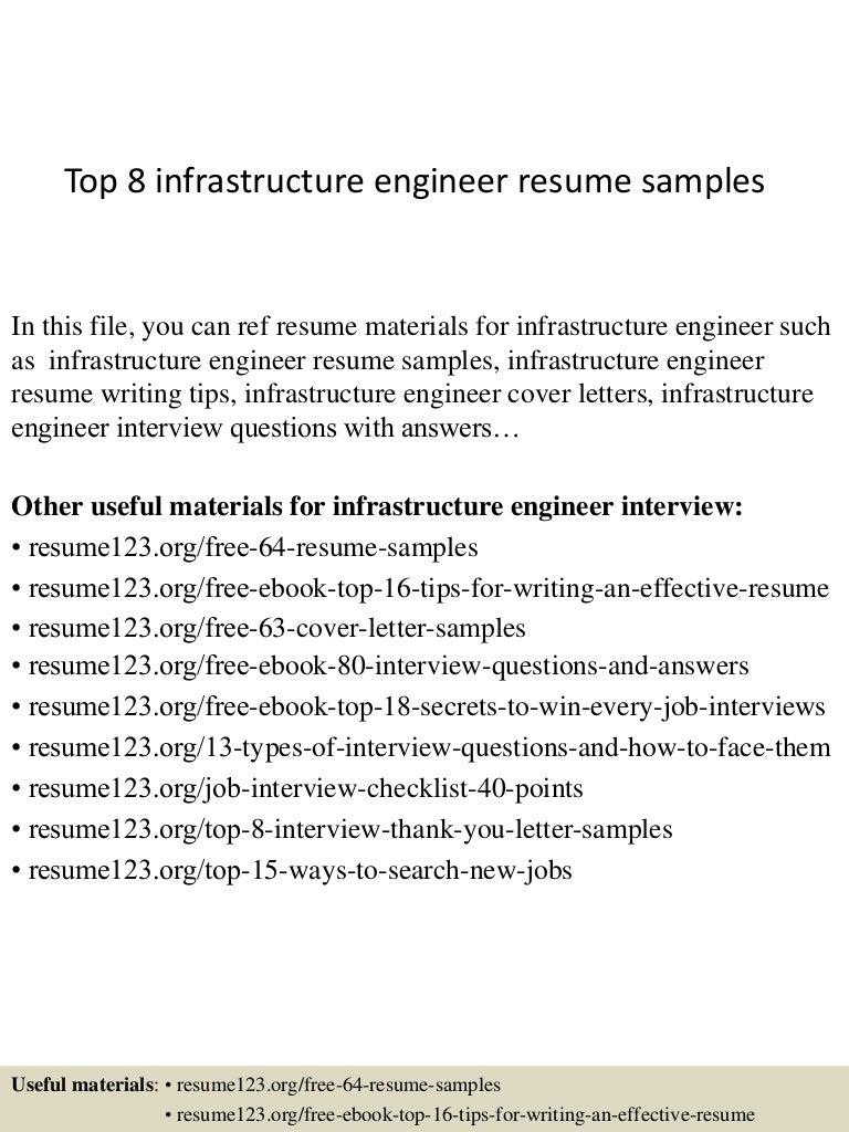 Sample Resume Engineering Consultant Template
