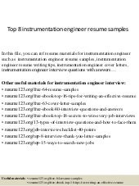 control system engineer resume - Dcs Engineer Sample Resume