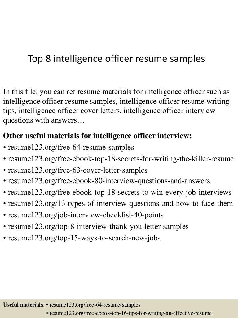 military resume samples topintelligenceofficerresumesamples lva app thumbnail - Military Resume Samples