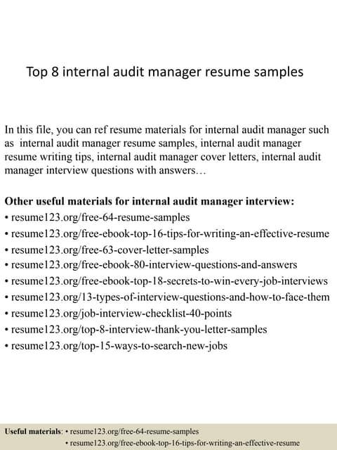 Senior Internal Controls Analyst | Auditor | Houston TX | Resume