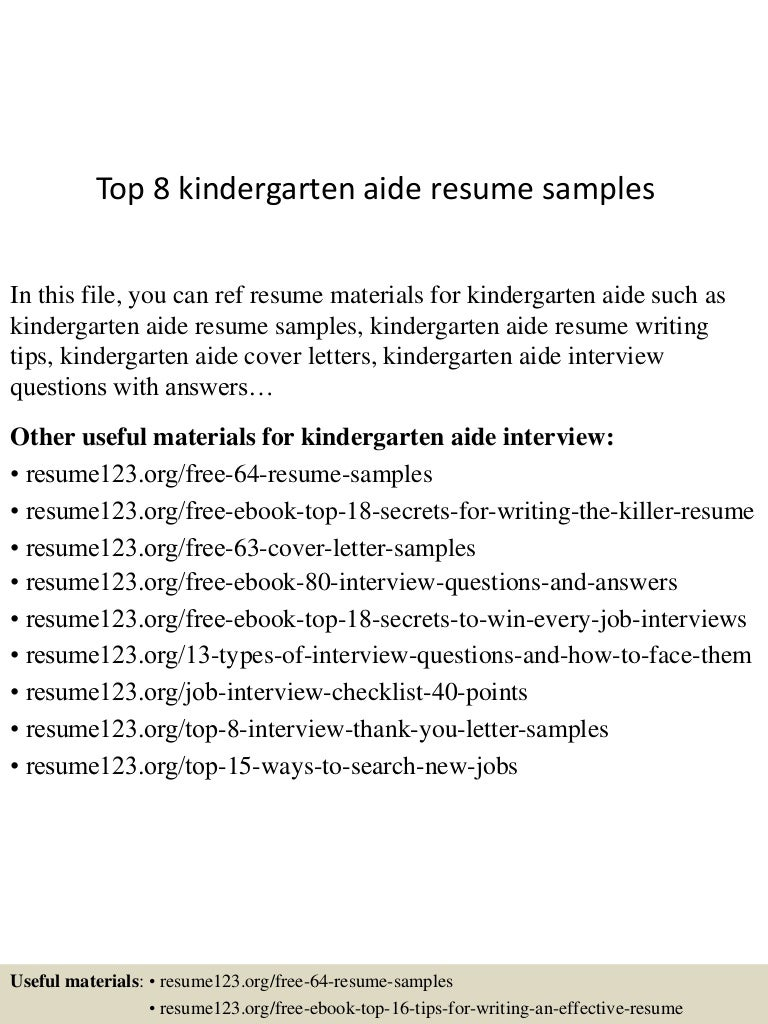 kindergarten interview questions and answers 5 common customer ...