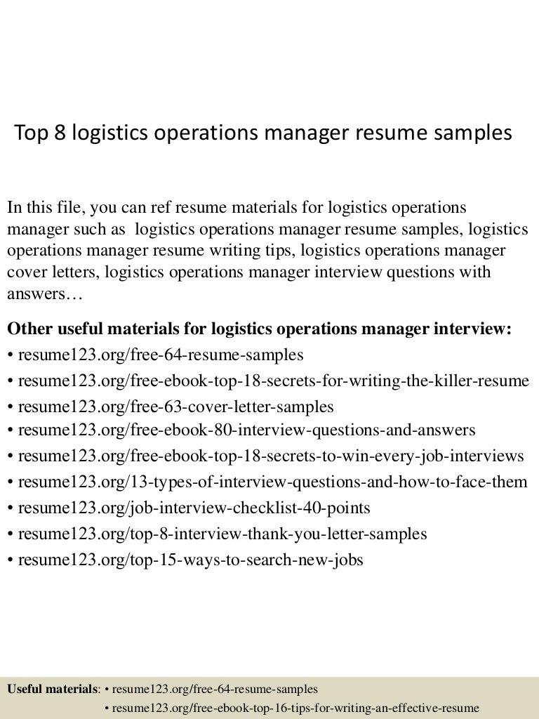 top8logisticsoperationsmanagerresumesamples-150521074726-lva1-app6891-thumbnail-4.jpg?cb=1432194499