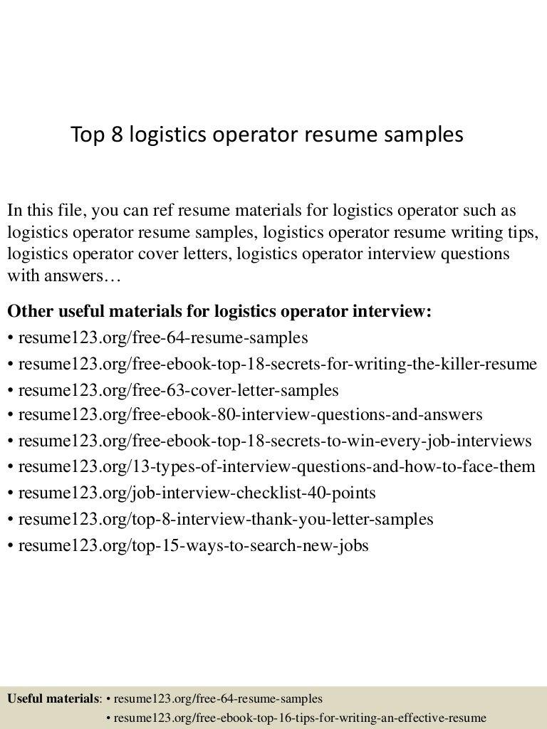 toplogisticsoperatorresumesamples lva app thumbnail jpg cb