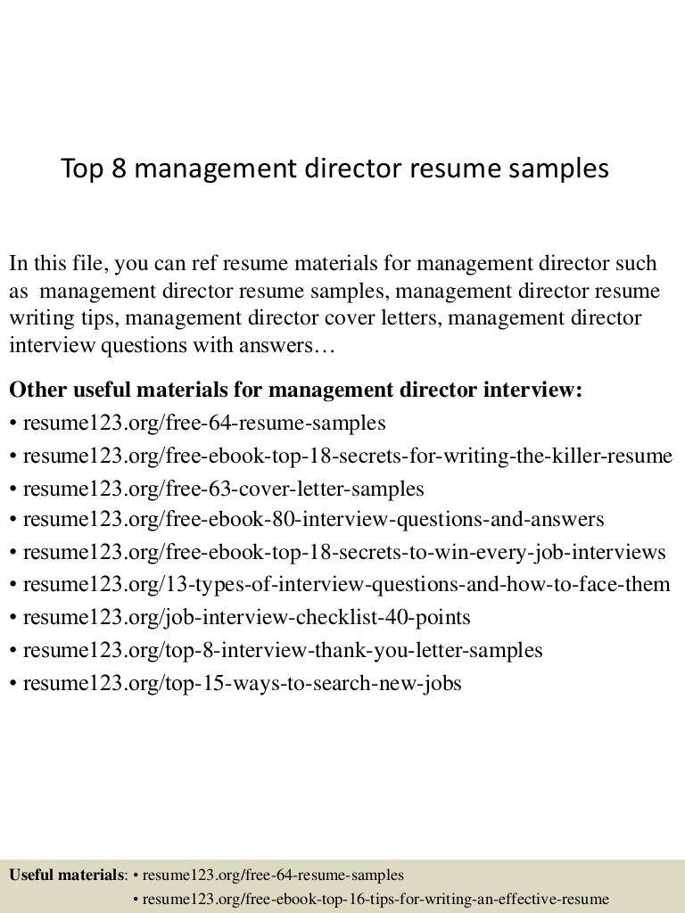 topmanagementdirectorresumesamples lva app thumbnail jpg cb