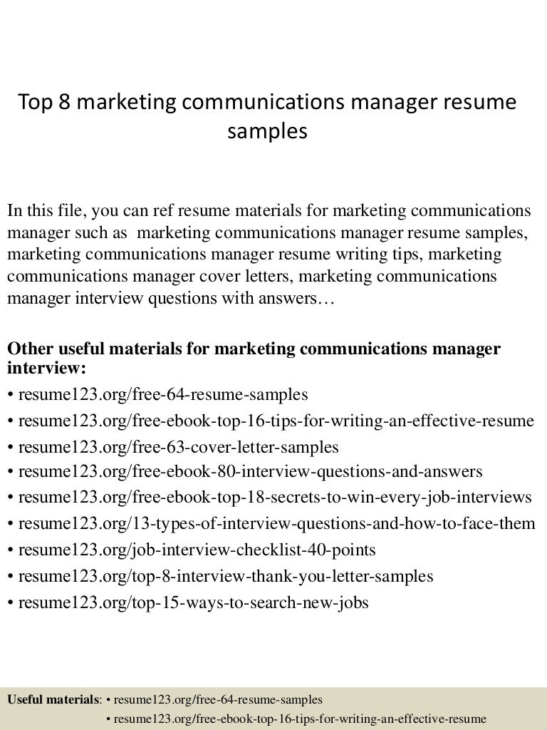 Inventiv Health Burlington Ma Communication Skills Resume Marketing Resumes  Examples Marketing Manager Resume  Communication Skills Resume Examples