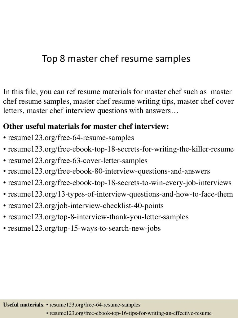 Development Chef Cover Letter automation manager cover letter my ...
