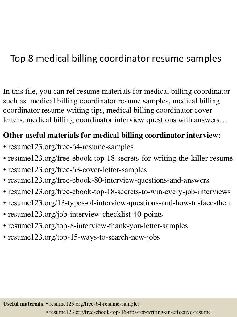 Top8medicalbillingcoordinatorresumesamples 150517021948 lva1 app6892 thumbnail 4gcb1431829236 madrichimfo Gallery