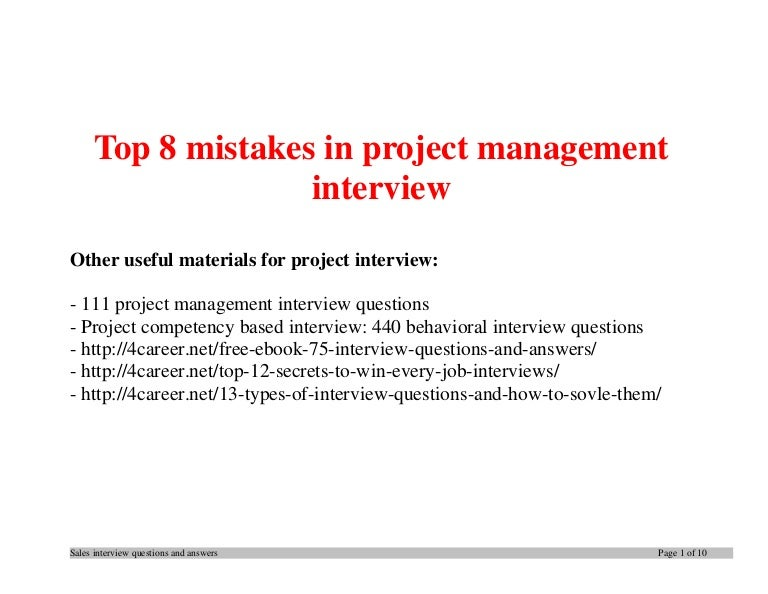 questions and answers on project management Project management in its truest form is winning the competition for someone's time -there is only 1440 minutes in a day any questions you would add and answer lean sales and marketing: learn about using cap-do special marketing with lean book and program offers on facebook.
