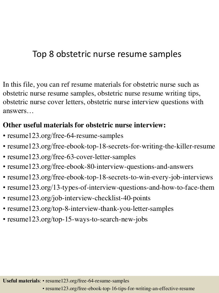 obstetrics nurse sample resume reference page for resume sample obstetrics nurse sample resume obstetrics nurse sample resume