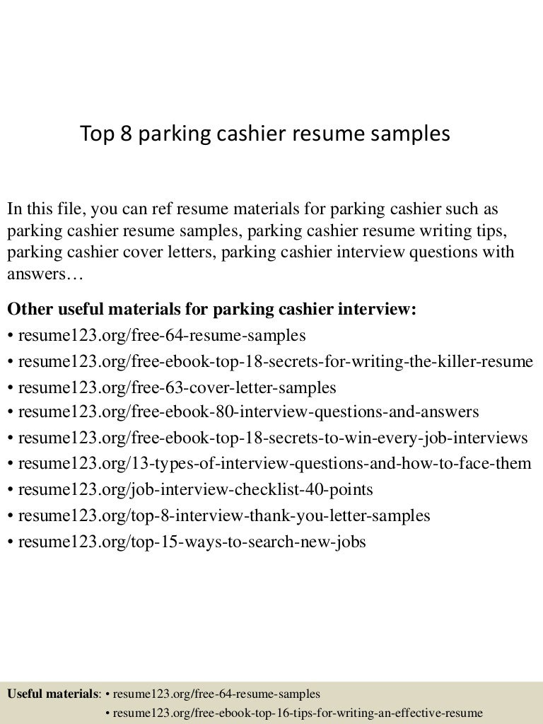 parking attendant sample resume parking attendant sample resume