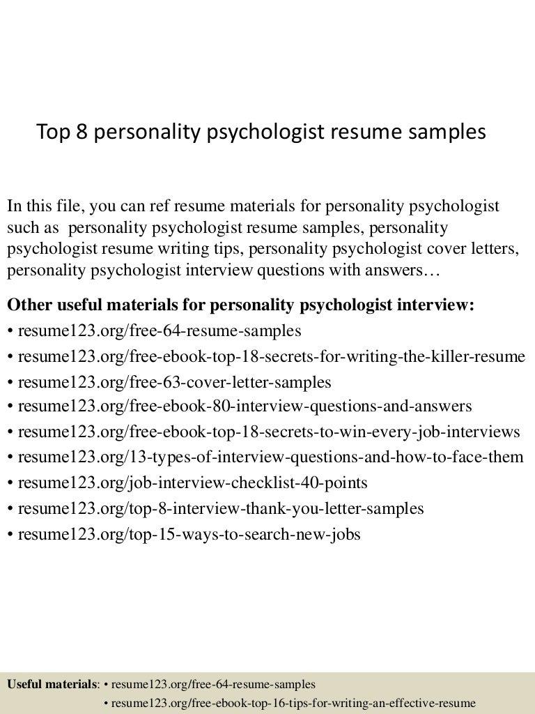 toppersonalitypsychologistresumesamples lva app thumbnail jpg cb
