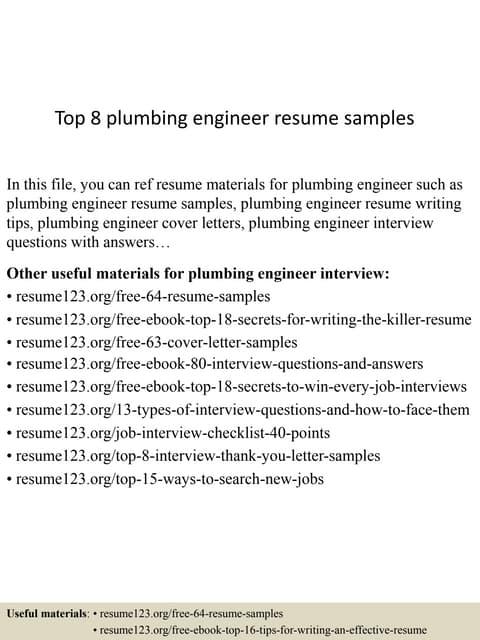 mechanical engineer plumbing and fire fighting