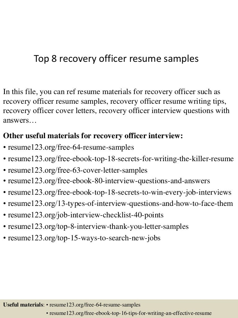 Recovery Officer Cover Letter art essay – Intellectual Property Cover Letter