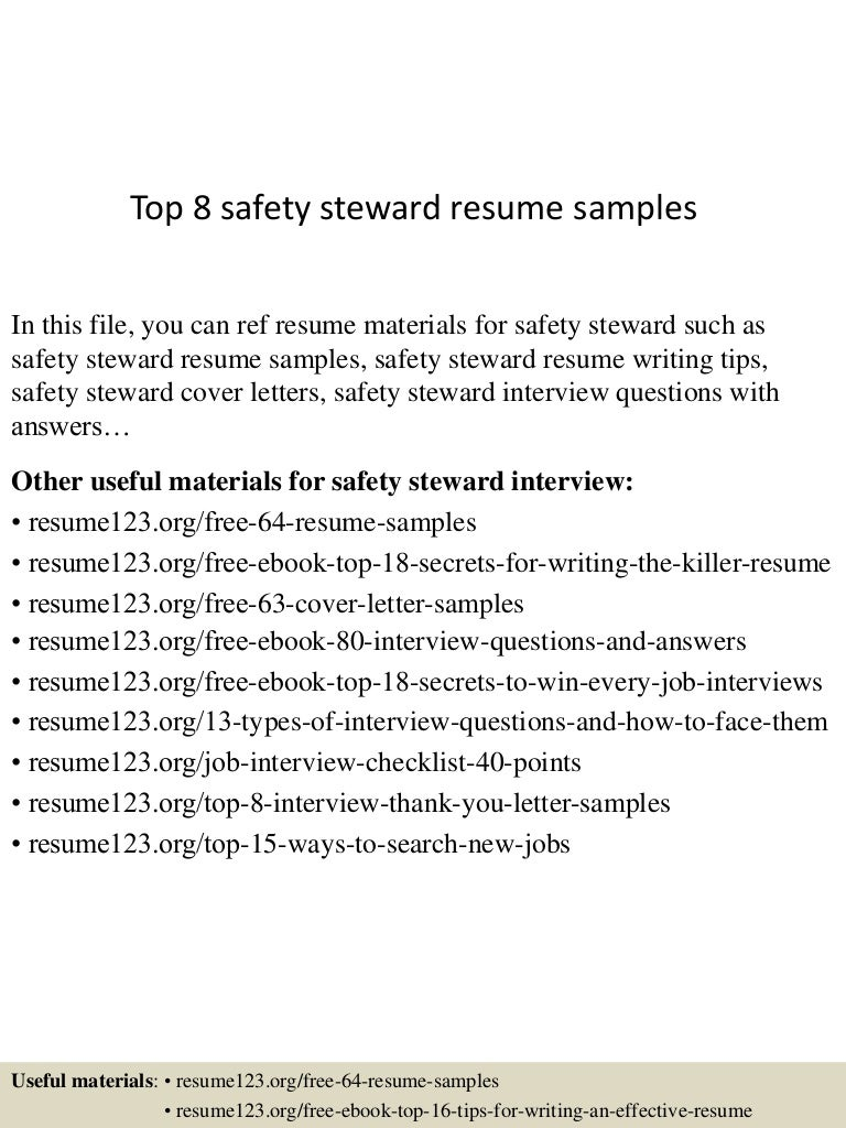 Chief Steward Cover Letter types of essays critical essays on ...