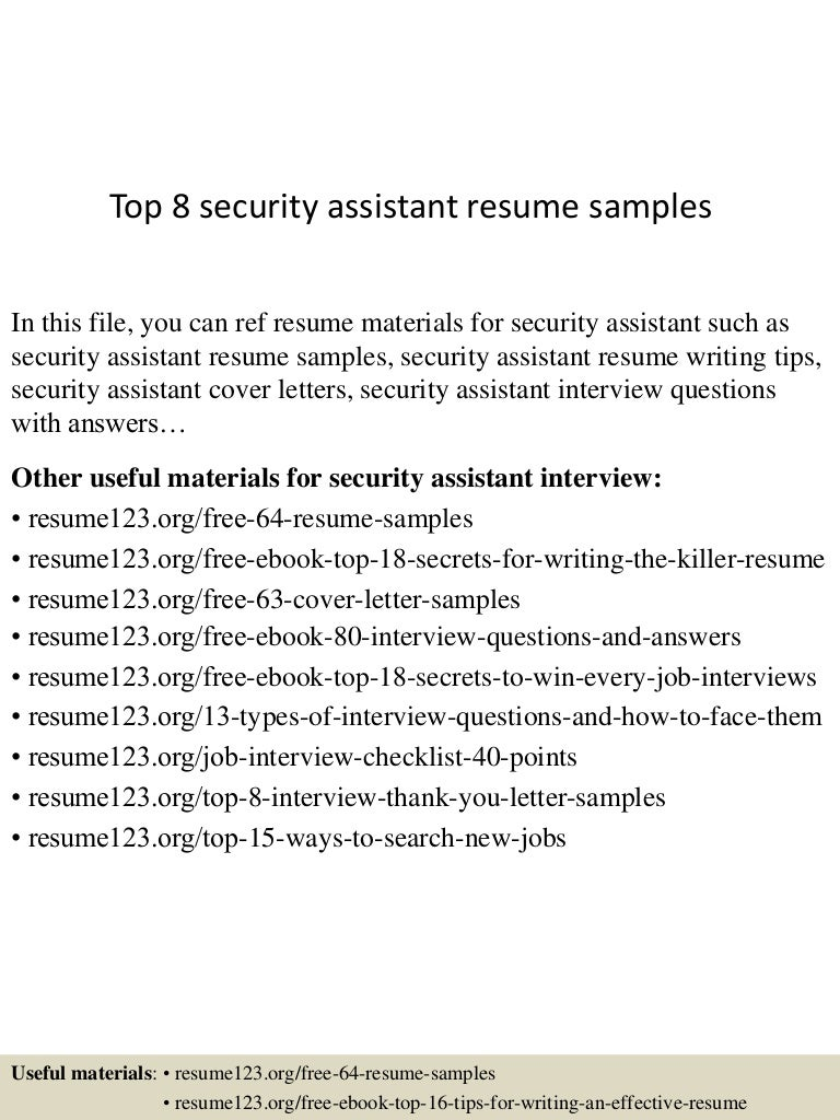 security objectives for resume - Cyber Security Resume