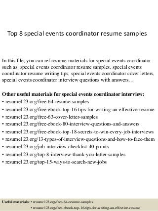 Top It Project Coordinator Resume Samples Ncqik Limdns Org Free Resume  Cover Letters Microsoft Word  Project Coordinator Resume