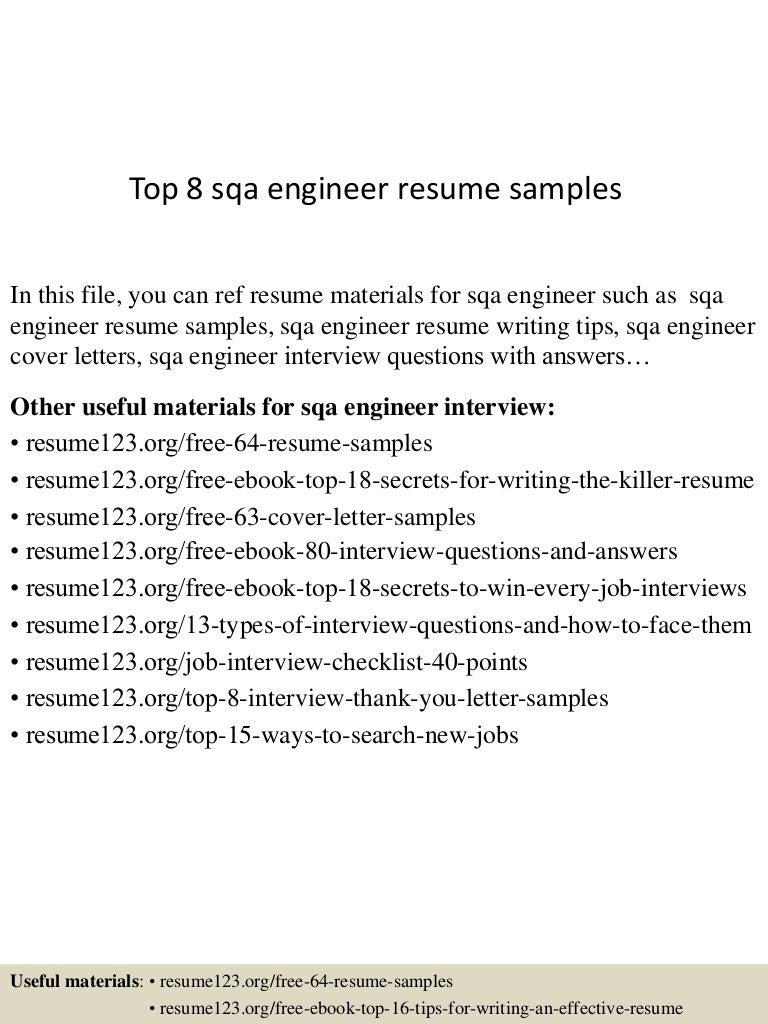qa engineer cover letter