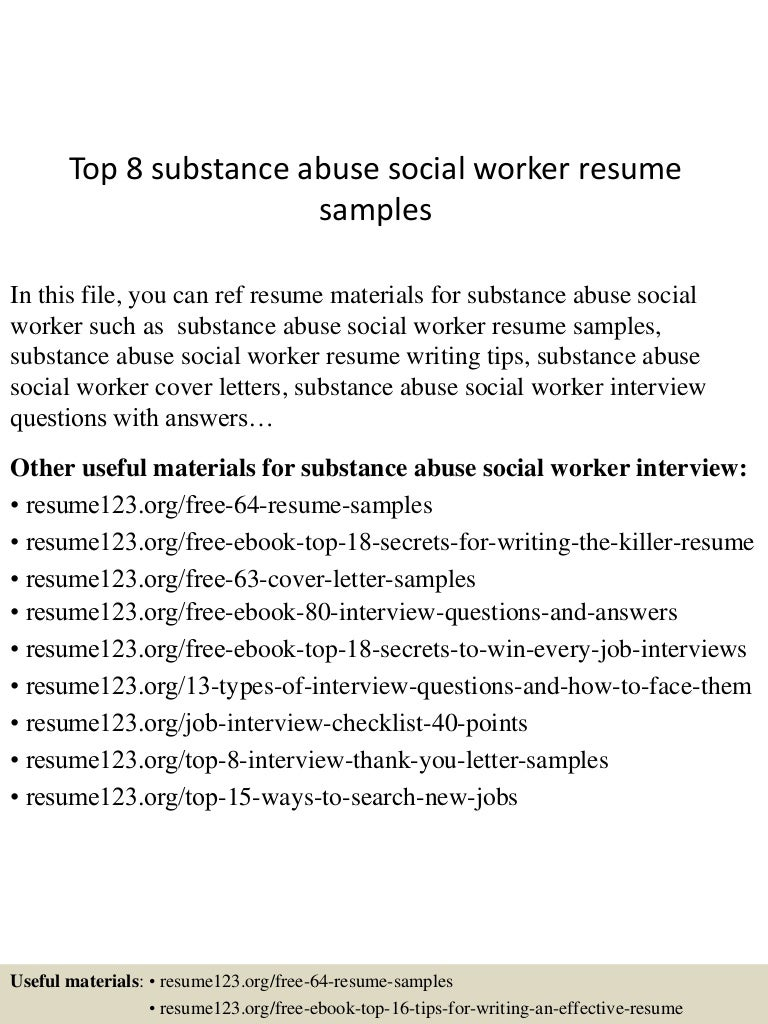 Sample Human Services Resume | Resume CV Cover Letter
