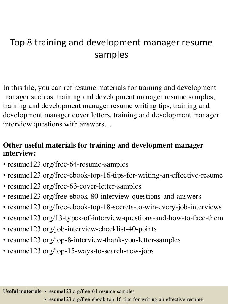 toptraininganddevelopmentmanagerresumesamples conversion gate thumbnail jpg cb