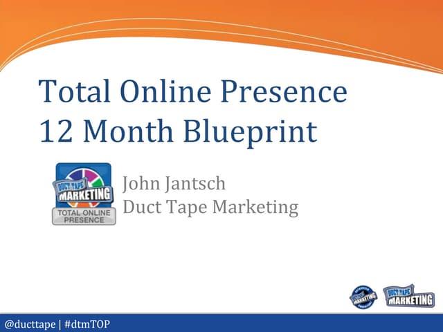 Total Online Presence Blueprint