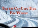 Top car care tips for winter