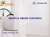 Drape Shade Cleaning NYC