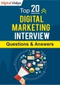 Top 20 Digital Marketing Interview Questions & Answers Guide