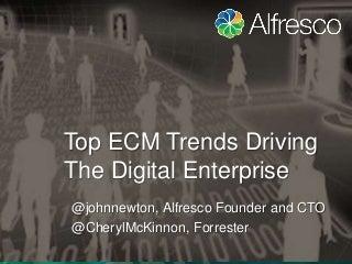 Top ECM Trends in Digital Enterprise