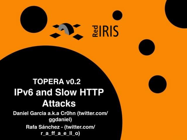 Topera: Evadiendo Snort con IPv6