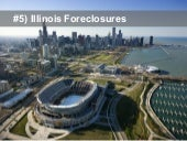 Top Five Foreclosure States In October 2013