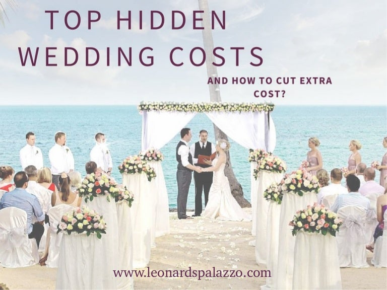 Top Hidden Wedding Costs And How To Cut Extra Cost