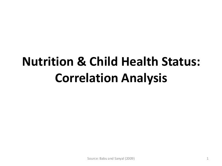 nutrition research topics ideas