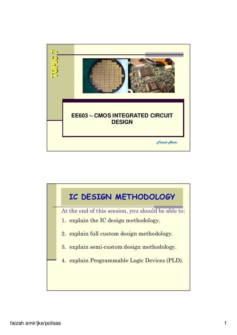 Cmos Topic 7 Design Methodology How To Create An Electrical Diagram Using Integrated Circuit Library